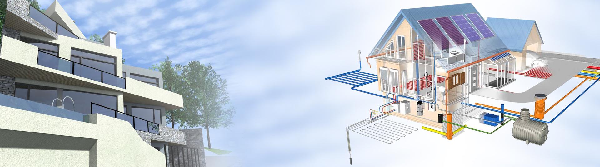 Проекты для водоснабжения и канализации частных домов